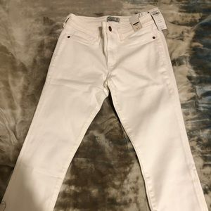 White Abercrombie jeans